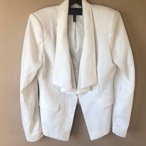 White Bcbg blazer